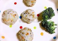 鱈魚彩色飯糰
