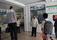 亞洲第一巨人張歡到山亭骨傷醫院複查