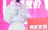 今天是小清新李菲兒,白色波點襯衫裙,溫婉乖巧,俏皮靈動!