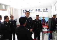 李輝同志到東鄉縣調研公安工作