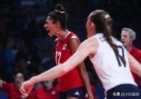 美國女排3-1勝巴西登B組第一!中國若勝意大利將二次交手衛冕冠軍