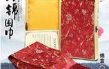 中國風手工刺繡真絲圍巾,絲綢圍巾領巾頭巾,時髦上檔次