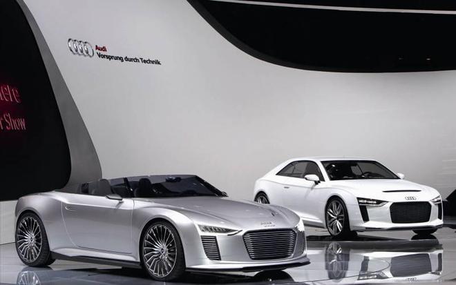 豪車展覽:奧迪混合動力汽車圖集