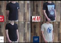 ZARA、H&M、優衣庫、GAP的T恤鮮為人知的區別