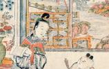 7張木版年畫圖,帶你領略清代女子的風韻之美