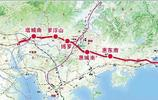 廣東正在修建203KM的一條省際高鐵,經四市設13站,2021年通車