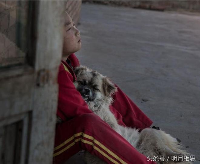 10歲男孩,父親了無音訊,母親奶奶過世,只留下一隻狗陪伴他