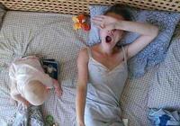 寶寶晚上入睡難,很可能是因為寶媽做了這3件事,中了的快改改!