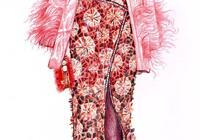 精美時尚的服裝設計手繪欣賞/美極了