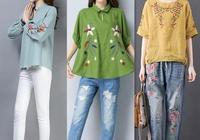 6款清新淡雅的——棉麻衫,搭蘿蔔褲,半身裙不僅涼爽,關鍵顯瘦
