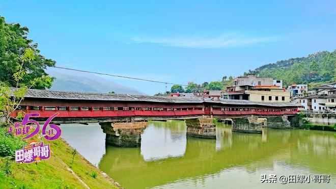 福建閩南絕無僅有的一座廊橋,水下松木近千年不爛,堪稱奇蹟!