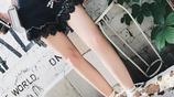 時尚高腰熱褲,女神的心機搭配,大長腿這樣穿出來