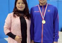 十年磨一劍,礪得梅花香!訪蚌埠籍全國游泳冠軍張子賢