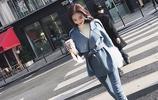 2017冬新款韓版小個子毛呢外套,雙面呢大衣,收腰綁帶潮流女裝