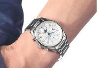 浪琴錶名匠系列月相腕錶 距離你最近的腕錶