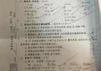 蘇教版小學三年級語文月考試卷,小學生不會造句,作文扣分最多