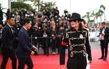 邁克爾傑克遜中國模仿者首次登戛納紅毯,外媒:MJ在中國復活