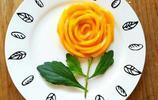 芒果雕花美食