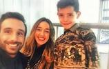喬治娜晒你羅及小王子合照,定位摩洛哥 網友:以黑為美的一家!