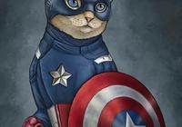 超級英雄原來都是貓