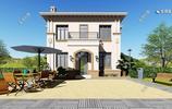 佔地120㎡造價35萬,精緻的2層歐式小別墅,在農村超受用!