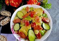 黃瓜土豆片
