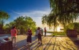 風景圖集:洞庭湖晚霞