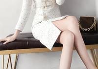 """這才是今年最美的裙子,""""象牙白""""毛衣裙,貴卻美得國色天香"""
