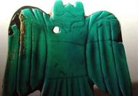 遼寧喀左東山嘴遺址出土的紅山文化綠松石鴞