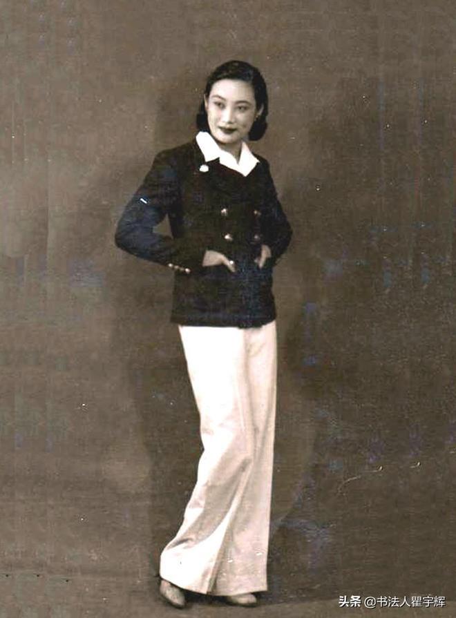 胡蝶,12張老照片,風華絕代,不愧為第一位真正意義上的影后