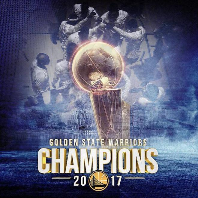金州勇士2016-17賽季NBA總冠軍