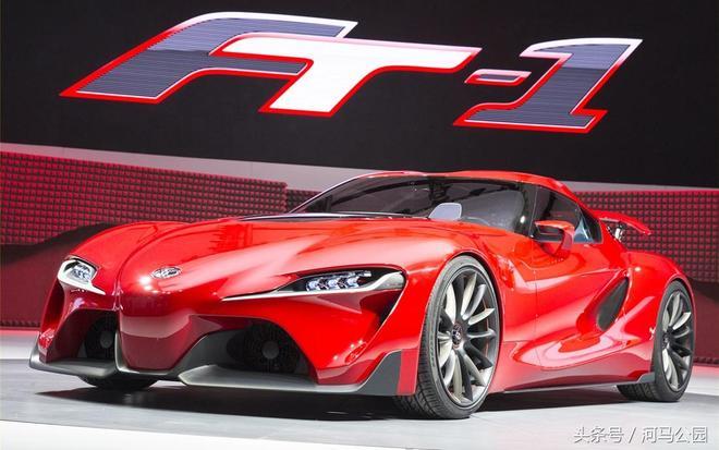 跑車中的戰鬥機,豐田FT-1概念跑車