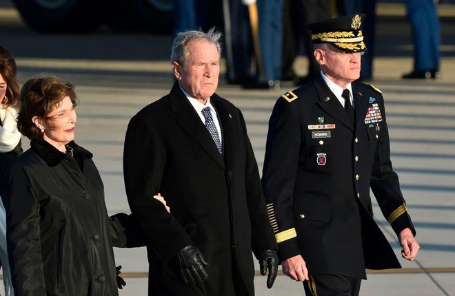 美國國家公祭日,舉國悼念前總統喬治·H·W·布什,葬禮現場圖集