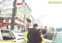 梅河口一女子騎電動自行車闖紅燈辱罵交警被拘留