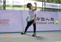 中國網球公開賽赴鄭選球童