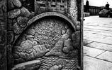 圖蟲黑白攝影:路邊浮雕