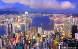 實拍美麗的香港夜景,不愧為世界一線城市