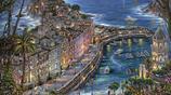 插畫:當代美國藝術家Robert Finale城市景觀畫,太美了