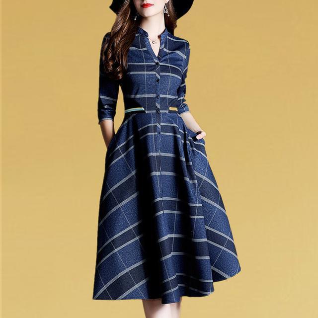 發現:美到令人著迷的美秋裙,美過十件風衣,建議60後女人常穿
