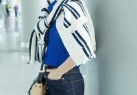 有一種成熟叫秦嵐,37歲仍然穿似少女樣子,休閒裝穿出仙女感