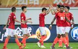 中超第11輪廣州恆大主場1:0深圳佳兆業,韋世豪為球隊打進一球