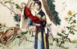 老照片:梅蘭芳早期彩照;圖三溥儀遊御花園,小太監手捧球拍伺候