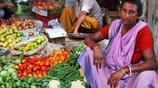 去印度菜市場買菜,魚蝦上全是蒼蠅,逛了一圈啥都不敢買