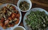 農家兩菜一湯,味道香爽,就這麼簡單的吃法