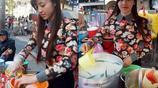 女孩街頭賣小吃追求者眾多,如今離婚成單身母親讓人認不出