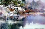 色彩繽紛 一組來自美國水彩畫欣賞