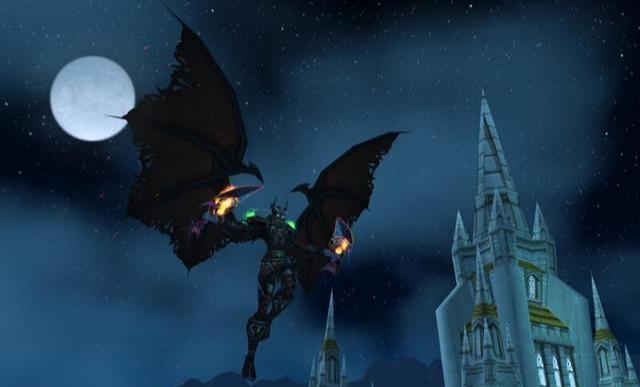 《魔獸世界》能變身的武器,鳳凰琴讓你秒變高富帥