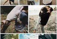 21種情侶拍照姿勢大全,總有你喜歡的那款甜蜜合拍照