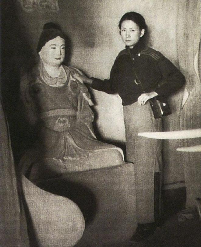 一組民國才女林徽因罕見老照片,中國著名建築師、詩人和作家