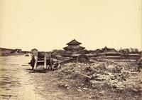 1860年第二次鴉片戰爭期間的北京古建築舊影